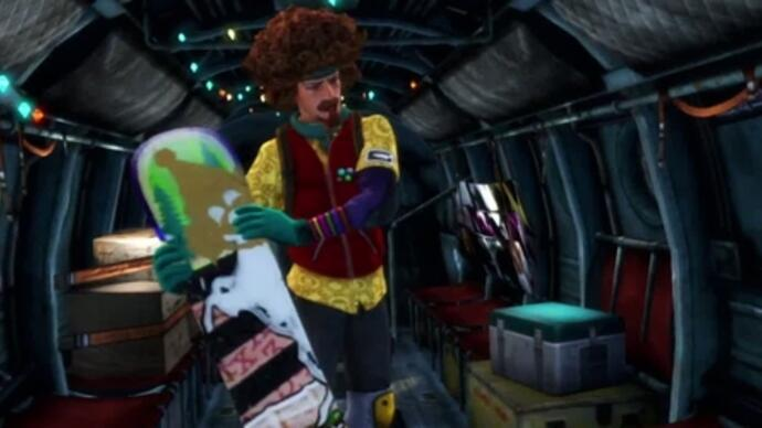 Latest SSX trailer adds Eddie Wachowski