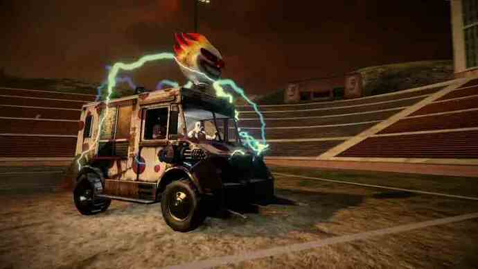 Twisted Metal trailer details weaponry