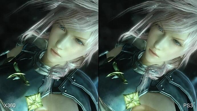 Final Fantasy 13-2 360/PS3 Face-OffVideo