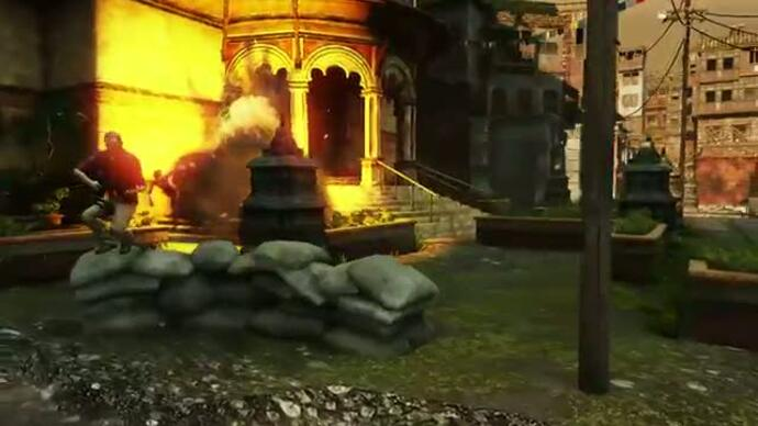 Uncharted 3 map pack trailer fires up