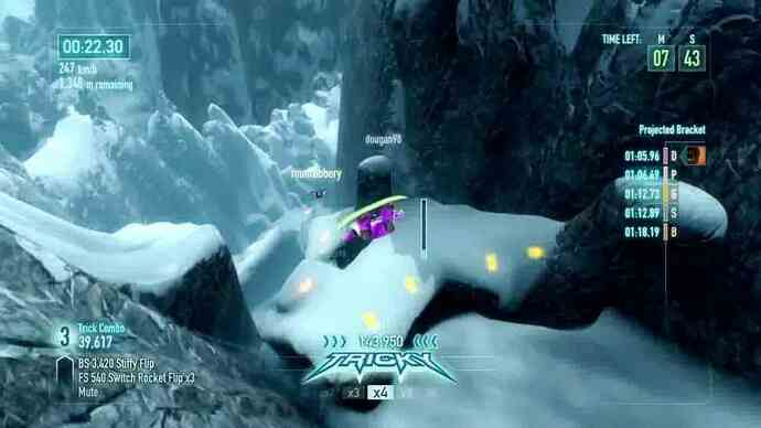 SSX trailer glides in wingsuit gameplay