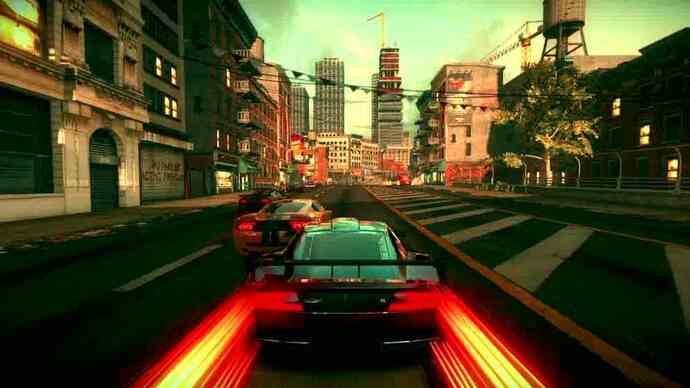 Ridge Racer Unbounded trailer crashes and burns