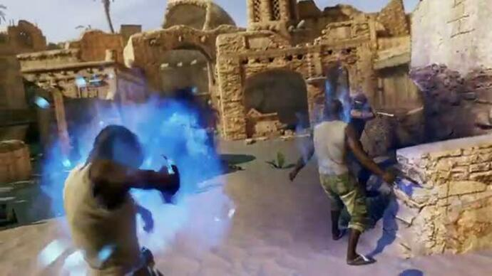 Uncharted 3 co-op shade survival mode trailer