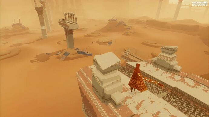 Exclusive Journey co-op mode footage