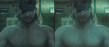 Metal Gear Solid: Peace Walker - PSP vs. PS3 Video