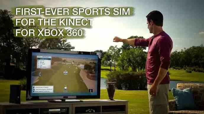 Tiger Woods 13 Kinect launch video