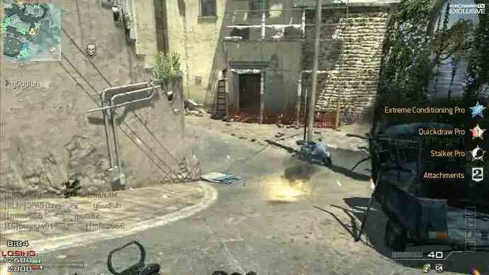 Exclusive Modern Warfare 3 Map Pack 1 Piazza footage