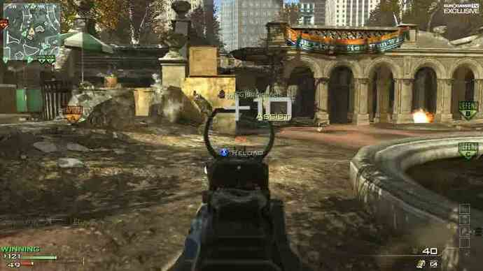Modern Warfare 3 Map Pack 1: Liberation - gameplay video