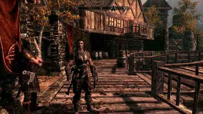 The Elder Scrolls 5: Skyrim Kinect trailer