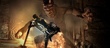 Dragon's Dogma demo gameplay footage