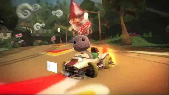 LittleBigPlanet Karting gameplay trailer