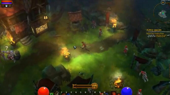 5 minutes of Torchlight 2 beta gameplay