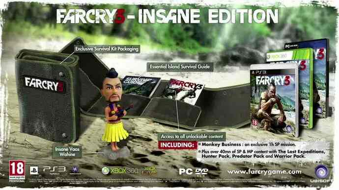 Far Cry 3 Insane Edition trailer
