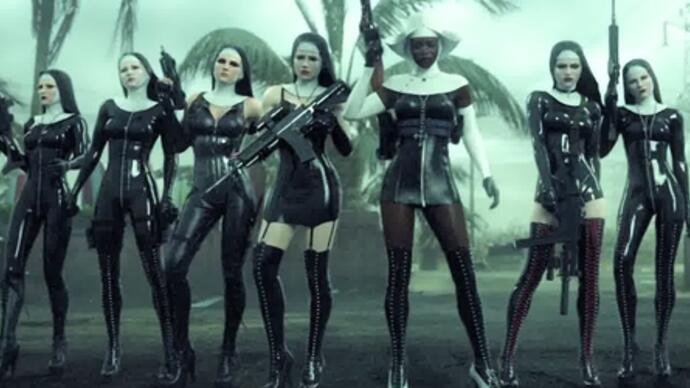 Explosive Hitman: Absolution trailer has killer nuns
