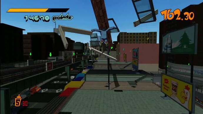 Jet Set Radio HD music teaser trailer