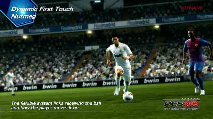 PES 2013: FullControl - vídeo gameplay