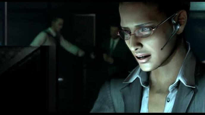 Resident Evil 6: Leon - gameplay video #1