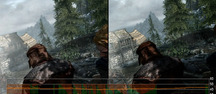Skyrim : PC vs. Xbox 360, 768p High Settings - Vid�o