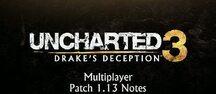 Naughty Dog beskriver uppdatering 1.13 till Uncharted 3: Drake Deception