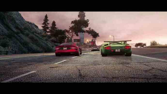 Multiplayer Need for Speed: Most Wanted trailer
