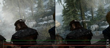 Skyrim 1080p D�tails � fond, GTX 660 Ti vs. Radeon 6870 Video