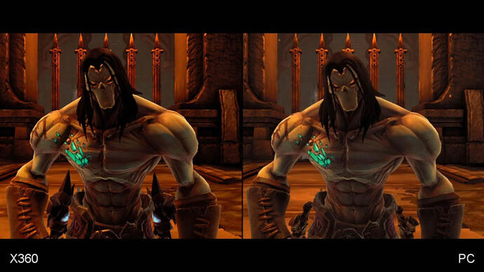 Darksiders 2: Xbox 360 vs. PC Face-Off Video