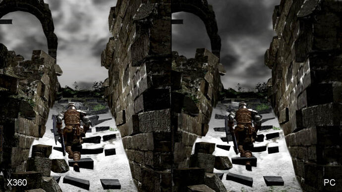 Dark Souls: Xbox 360 vs. PC Face-Off Video