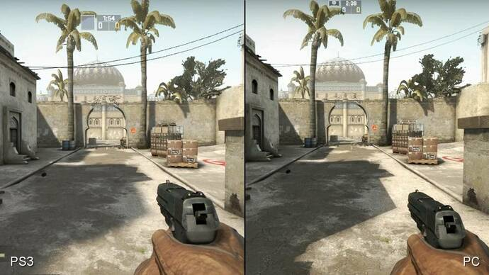 Counter-Strike: Global Offensive PS3 vs. PC Face-Off Video