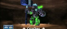 Kolla in Crusher fr�n Skylanders Giants