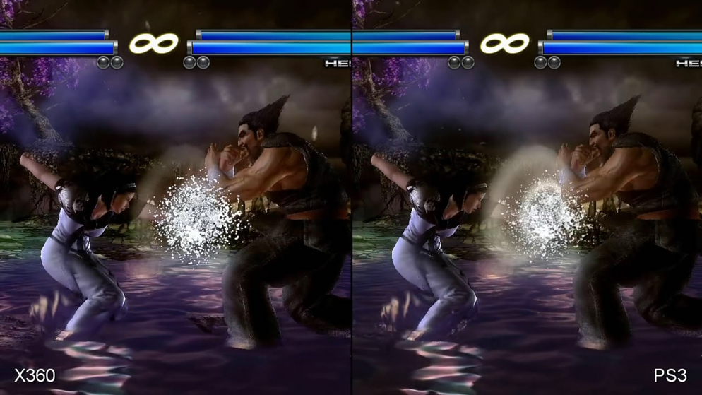 Tekken Tag Tournament 2 Xbox 360 Vs Ps3 Comparison Video Eurogamer Net