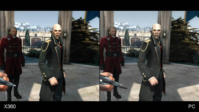 Dishonored Xbox 360 vs. PC Face-Off Video