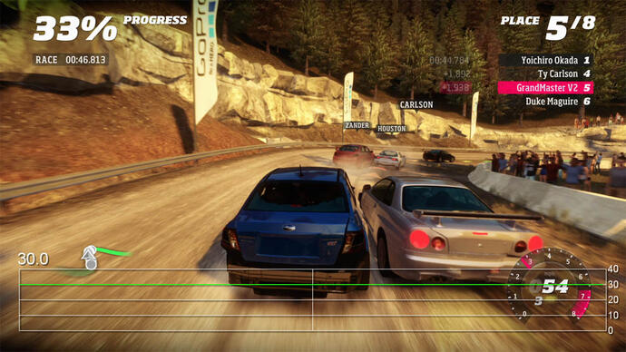 Forza Horizon Gameplay Performance Video