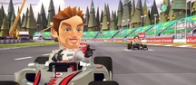F1 Race Stars - Gameplay-Trailer