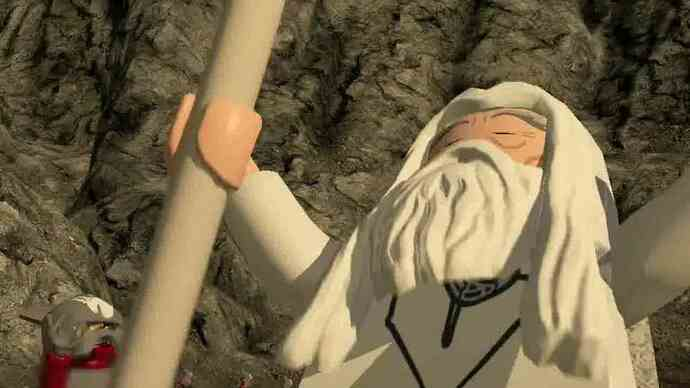 Lanseringstrailern för LEGO Lord Of The Rings