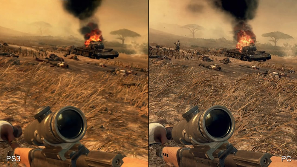 Call of Duty: Black Ops 2 PS3 vs  PC Comparison Video • Eurogamer net