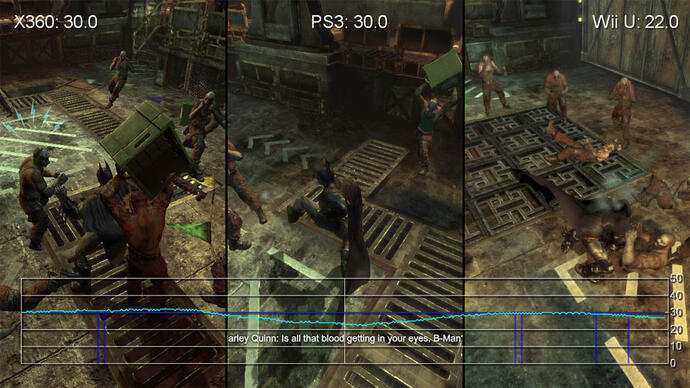 Batman: Arkham City Tri-Format Gameplay Comparison