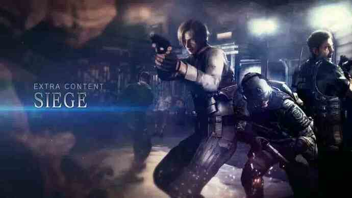 Resident Evil 6 - Trailer do modo Siege