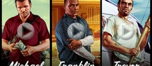 Grand Theft Auto V - Trailers de Michael, Franklin, Trevor