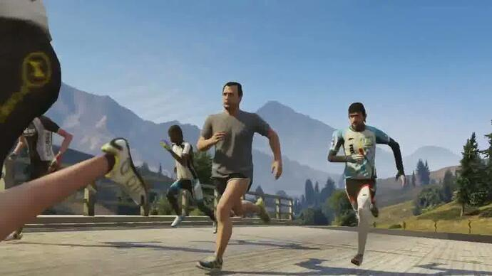 Grand Theft Auto V - Trailer dos desportos