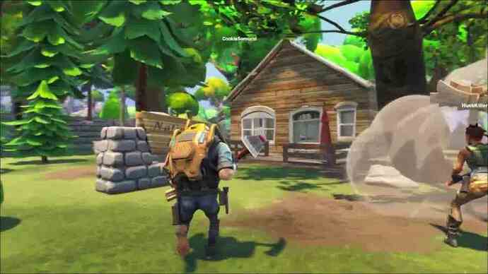 Fortnite in un nuovo gameplay video