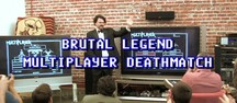 Brutal Legend multiplayer deathmatch