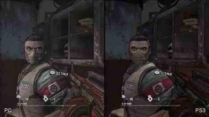 Exclusive: Borderlands PS3/PC comparison