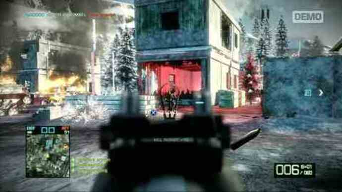 Exclusive Battlefield: Bad Company 2 demo footage