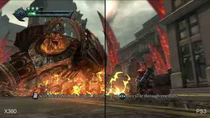 Darksiders: Xbox 360 versus PlayStation 3 Face-Off