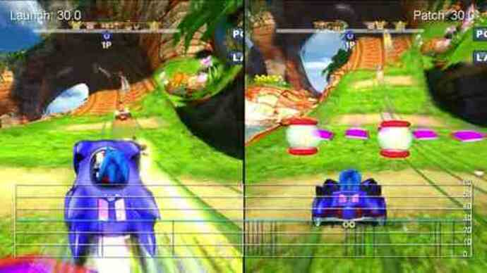 Sonic & SEGA All-Stars PS3 performance analysis