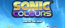 Sonic Colours - Primeiro trailer