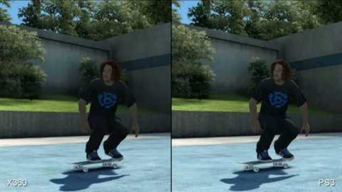 Skate 3: Xbox 360/PS3Face-Off
