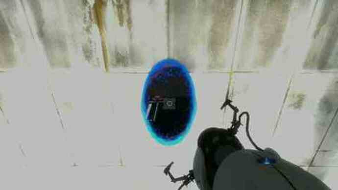 Portal 2 gameplay footage