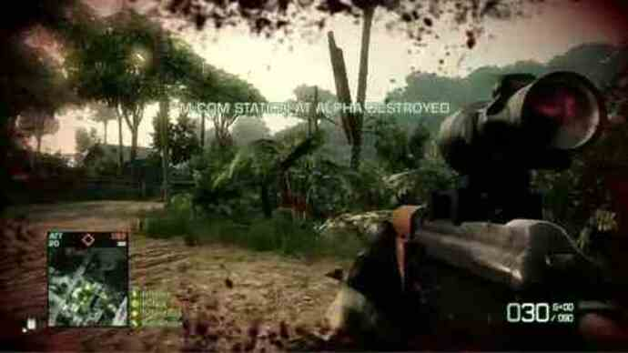 Battlefield: Bad Company 2 gameplay