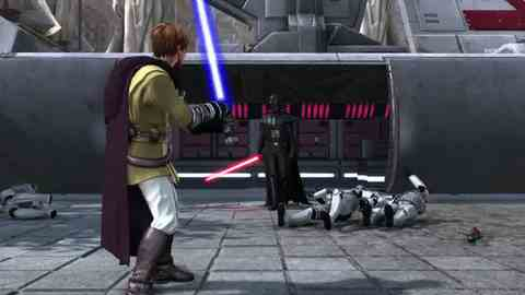 Could Star Wars Kinect play a part?